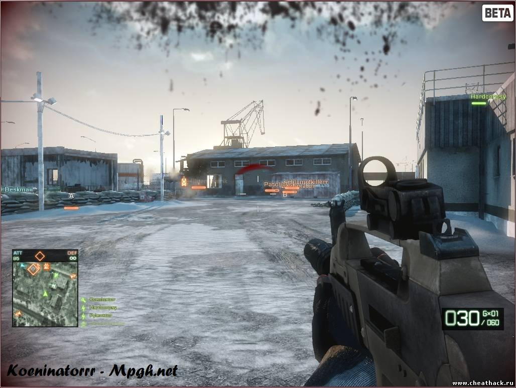 ESP Hack Battlefield Bad Company 2