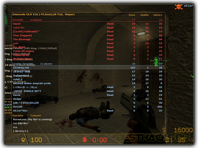 Neferty Hack Public v1.0 для Counter Strike:Source
